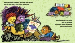 Deb Lund - Monster Mama reads